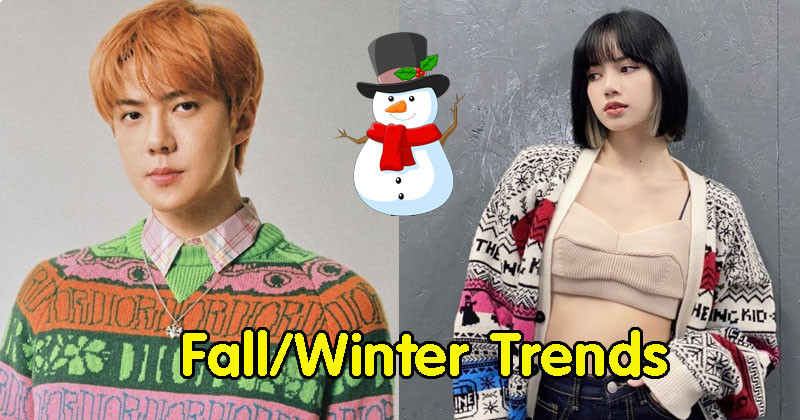 22 K-Pop Stars With Different Interpretations Of This Year's Fall/Winter Fashion Trends!