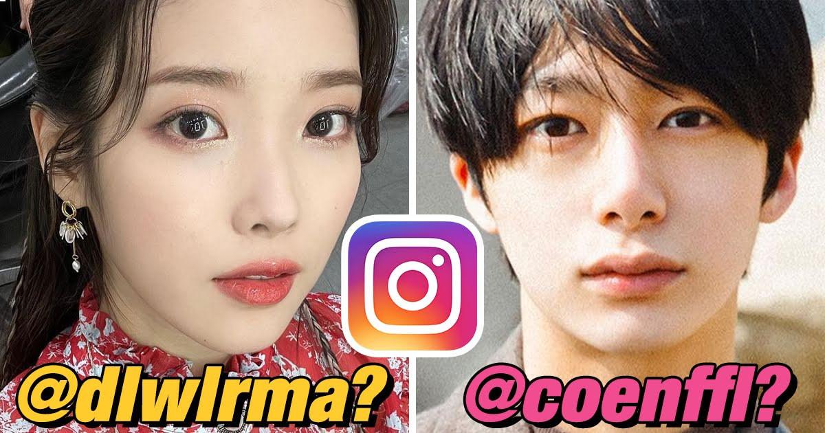 7 Idol Instagram Usernames That Look Like Keysmashes But Are Actually Genius