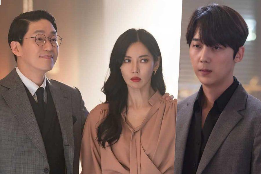 """Uhm Ki Joon Flaunts His Marriage With Kim So Yeon To Upset Yoon Jong Hoon In """"The Penthouse 3"""""""