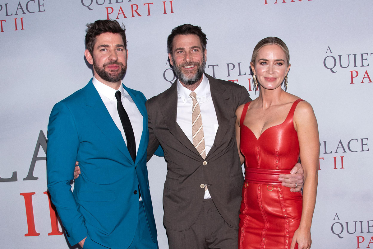 "Cast members and celebs attend ""A Quiet Place Part II"" premiere"