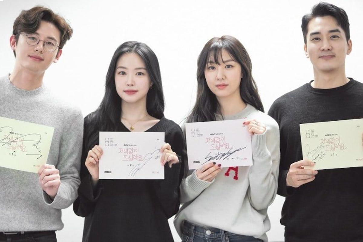 Song Seung Heon, Seo Ji Hye, Lee Ji Hoon, And Son Naeun Impress At Script Reading For New Drama