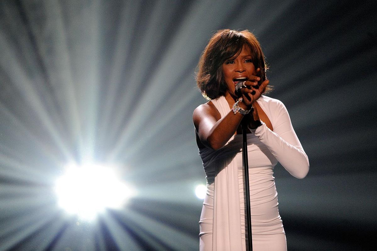 Clive Davis producing Whitney Houston biopic