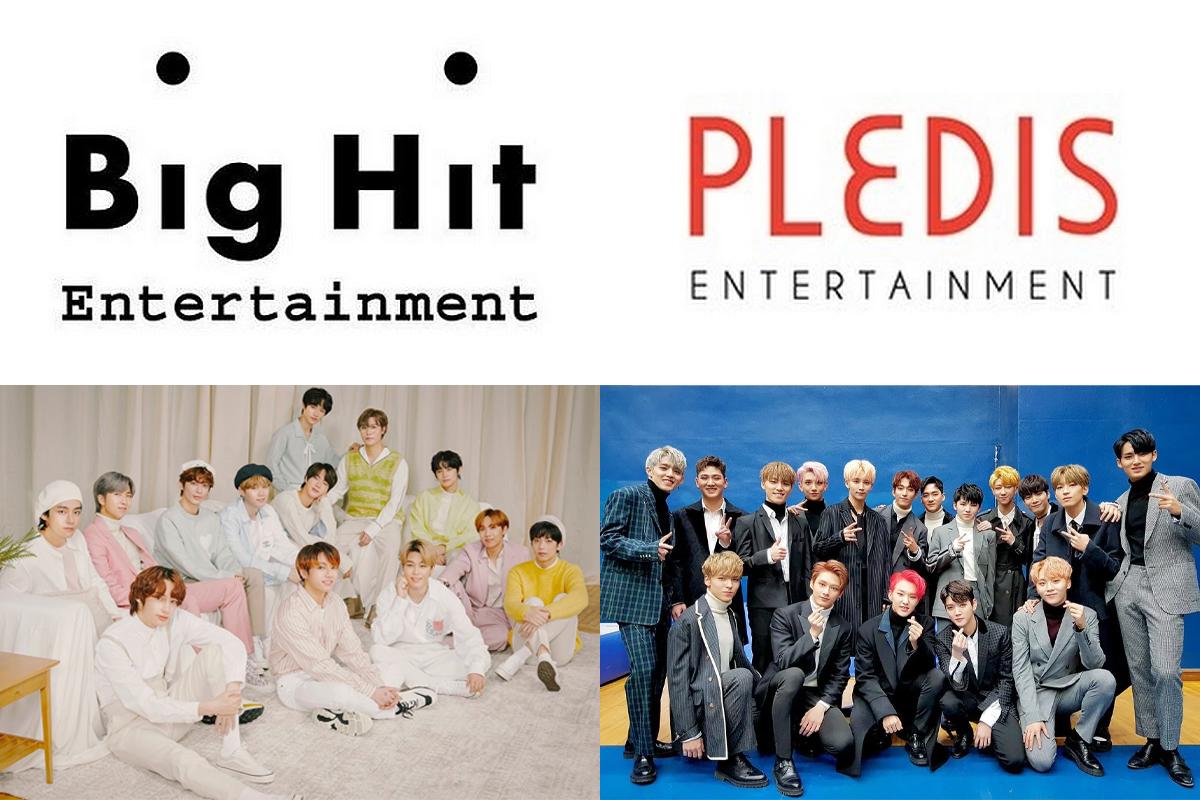 Big Hit becomes largest shareholder of Pledis Entertainment