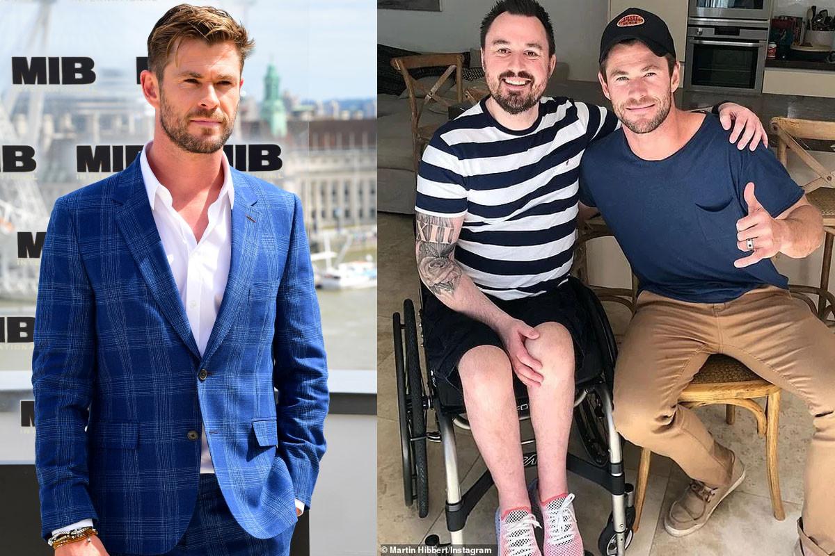 Chris Hemsworth invites Manchester bomb survivor to walk the red carpet at the Thor