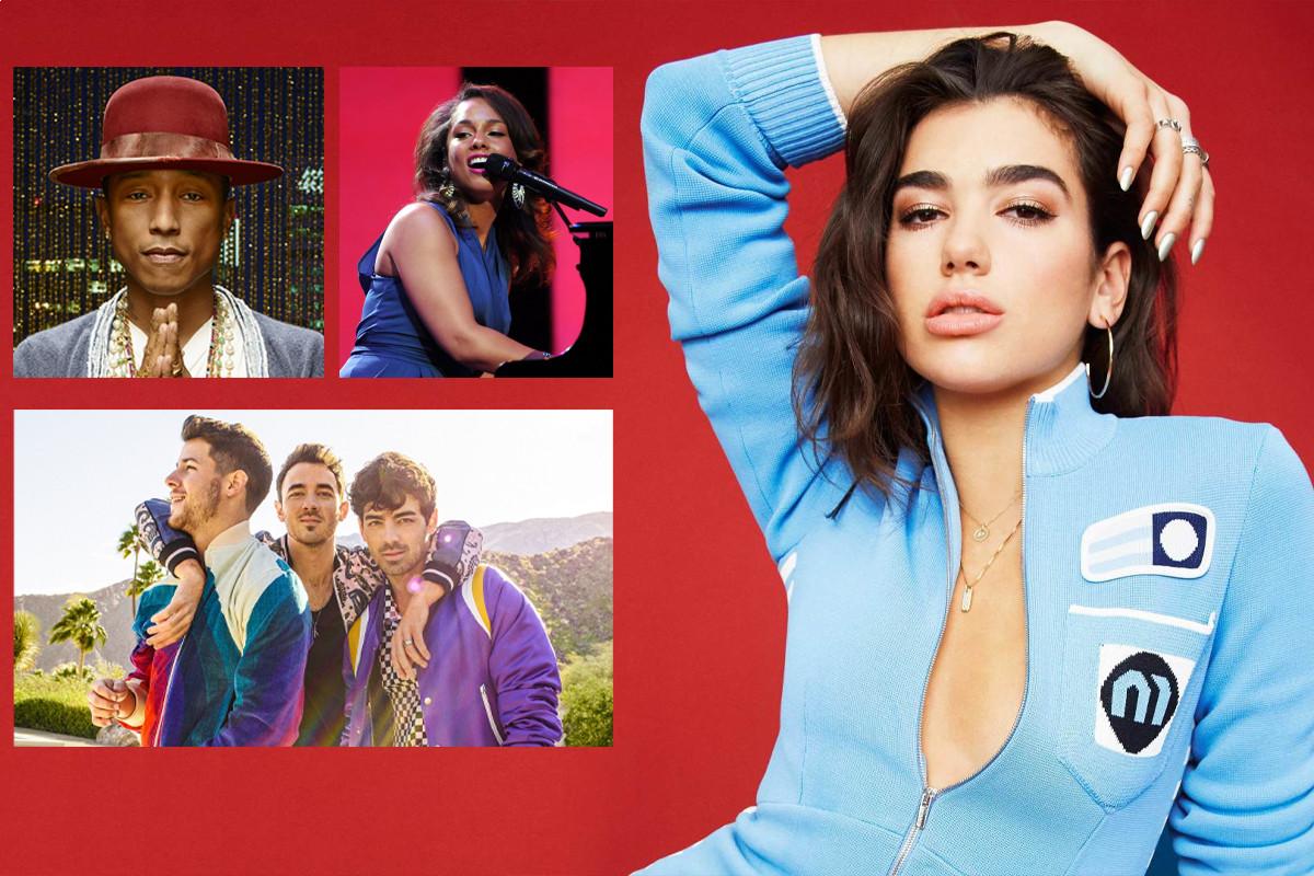 Dua Lipa joins Alicia Keys, Pharrell Williams and Jonas Brothers in Graduate Together ceremony