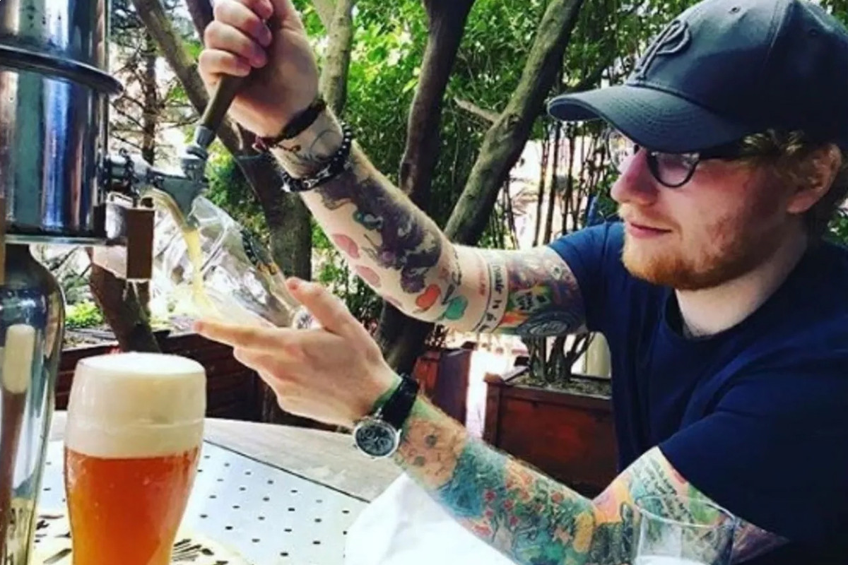 Ed Sheeran takes temporary break from music to open beer pub during lockdown