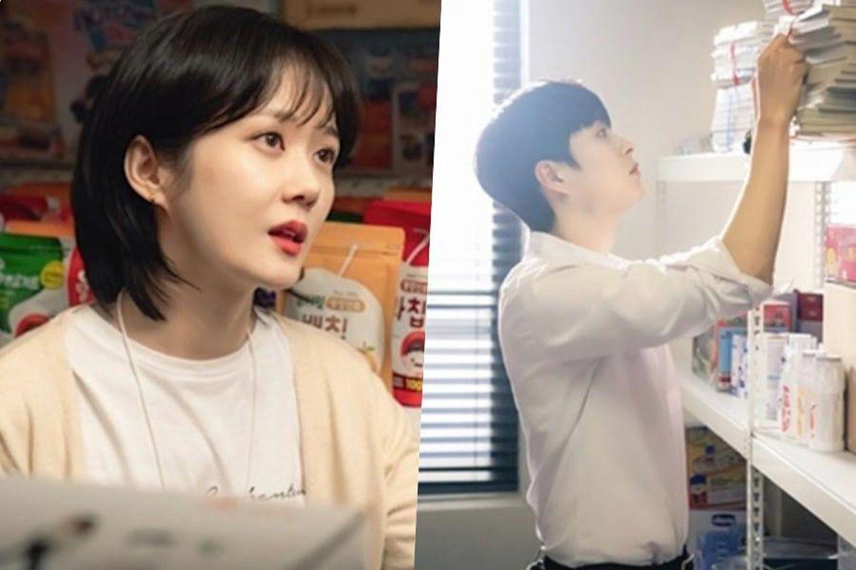 """""""Oh My Baby""""'s Jang Nara Can't Take Her Eyes Off Jung Gun Joo"""