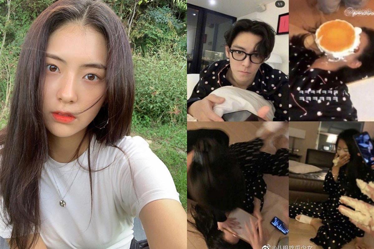 SM C&C rookie actress Kim Gabin leaks intimate image with T.O.P (BIGBANG)