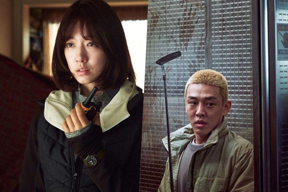 """#ALIVE"" reveals Park Shin Hye, Yoo Ah In's zombie hiding photos"