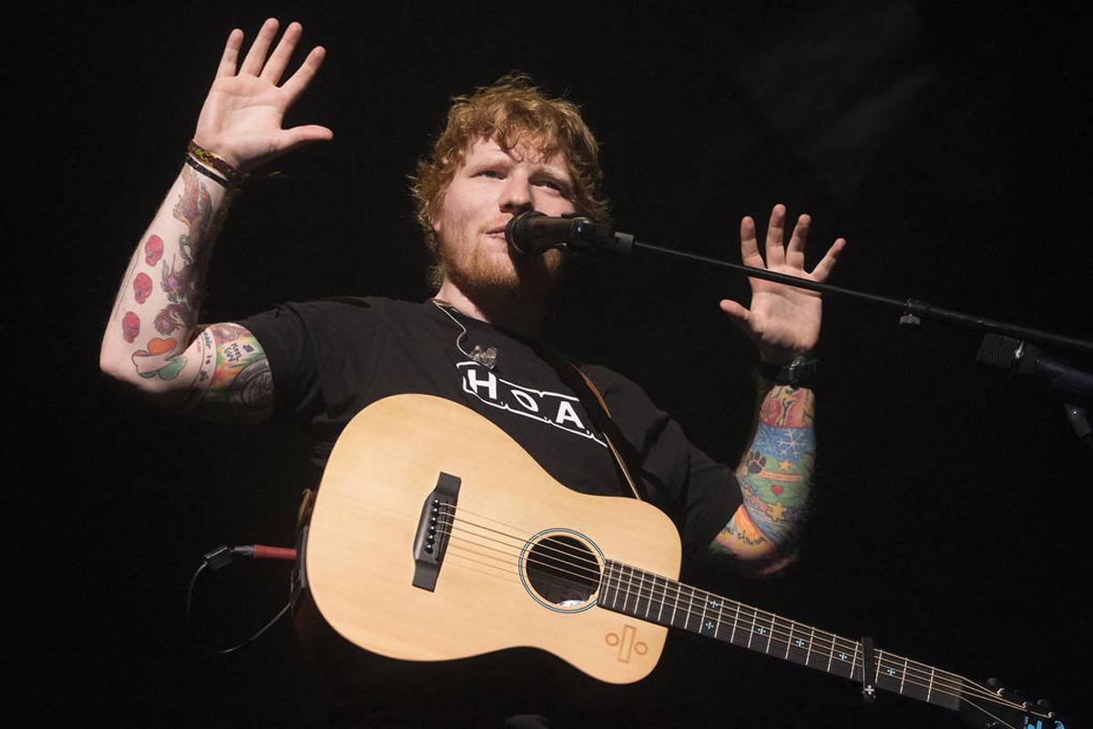 Ed Sheeran returns from music break to write brand new song