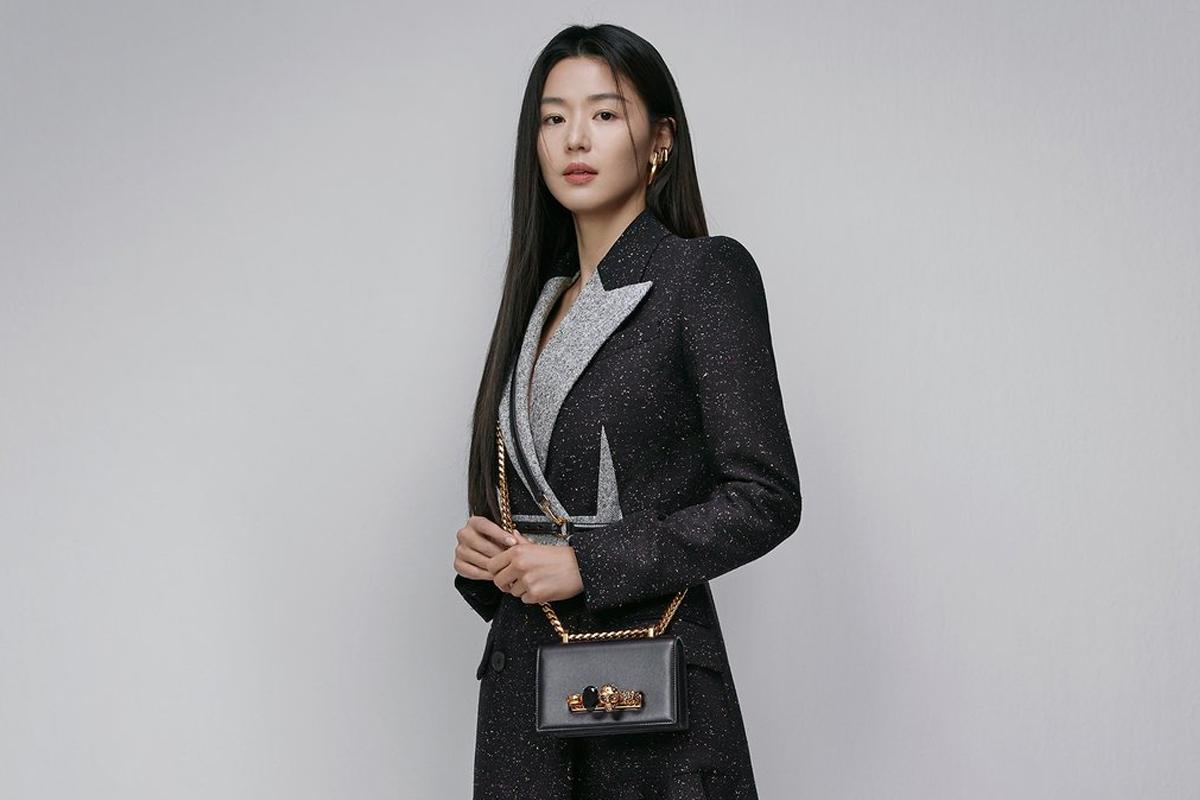 Jun Ji Hyun looks stunning as ambassador for Alexander McQueen in South Korea