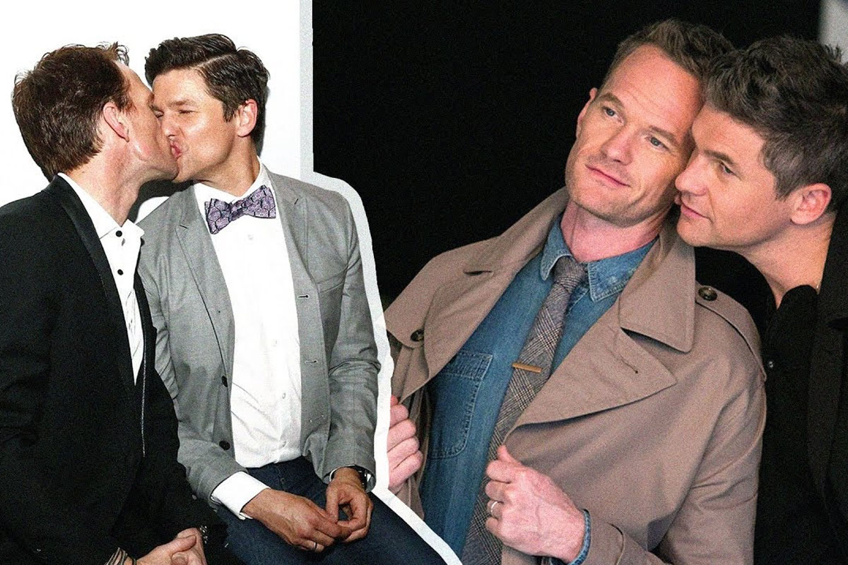 The most handsome gay couples in US-UK entertainment