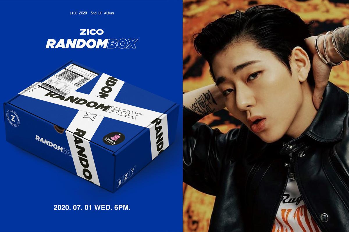 BLOCK B Zico reveal surprise comeback with 3rd mini album 'RANDOM BOX' on July 1