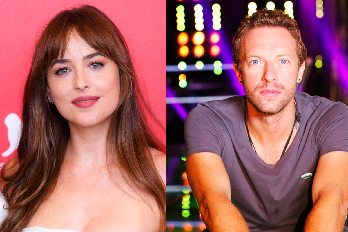 Dakota Johnson Joins Chris Martin & Gwyneth's Kids For Family Beach Day