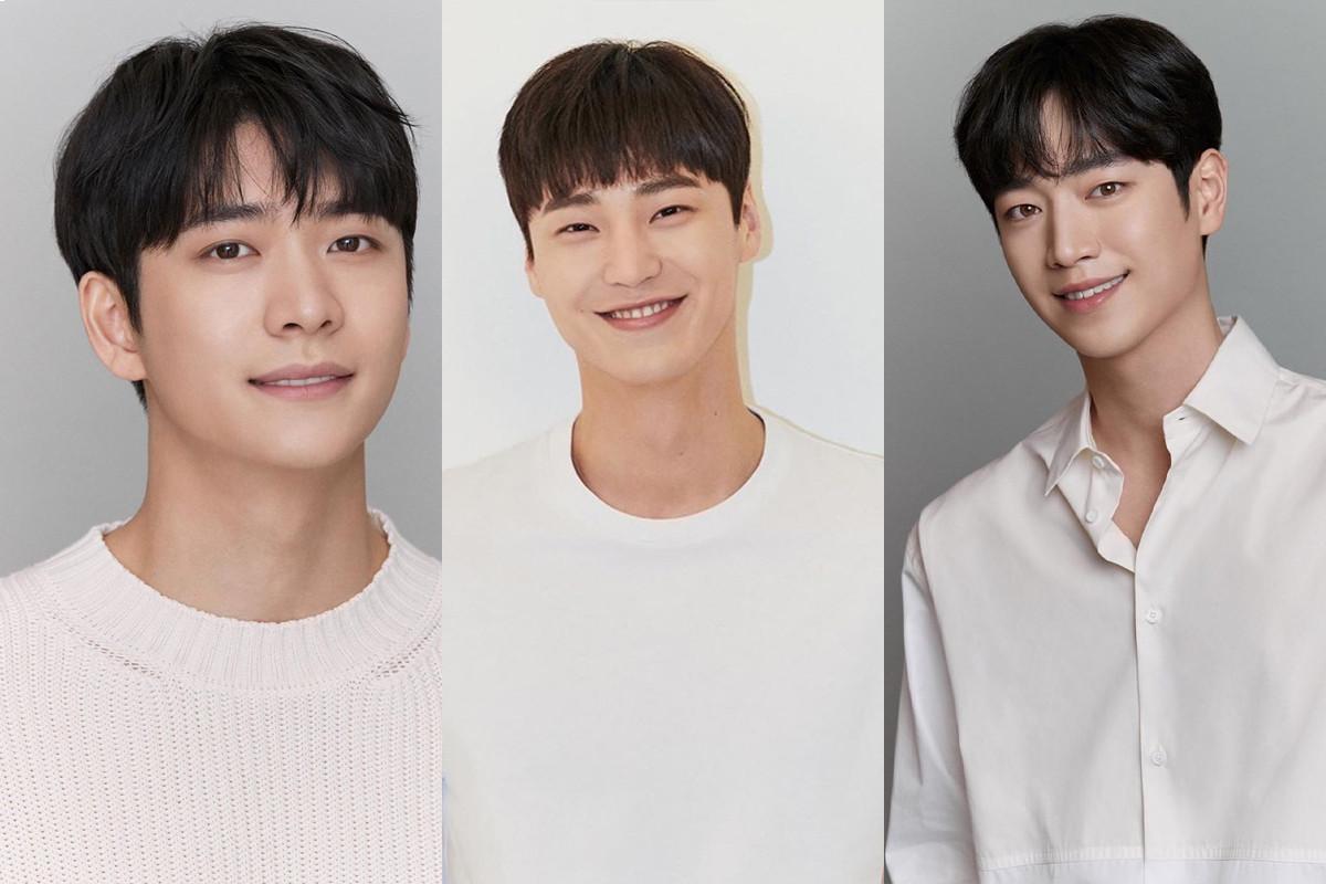 Lee Tae Hwan, Seo Kang Joon, Kang Tae Oh release new profile photos