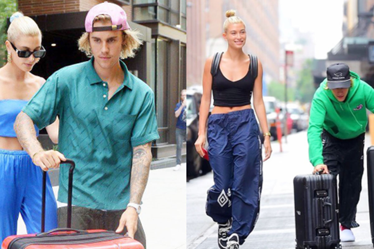 "As a ""pop prince"", Justin Bieber to carry his wife's belongings"