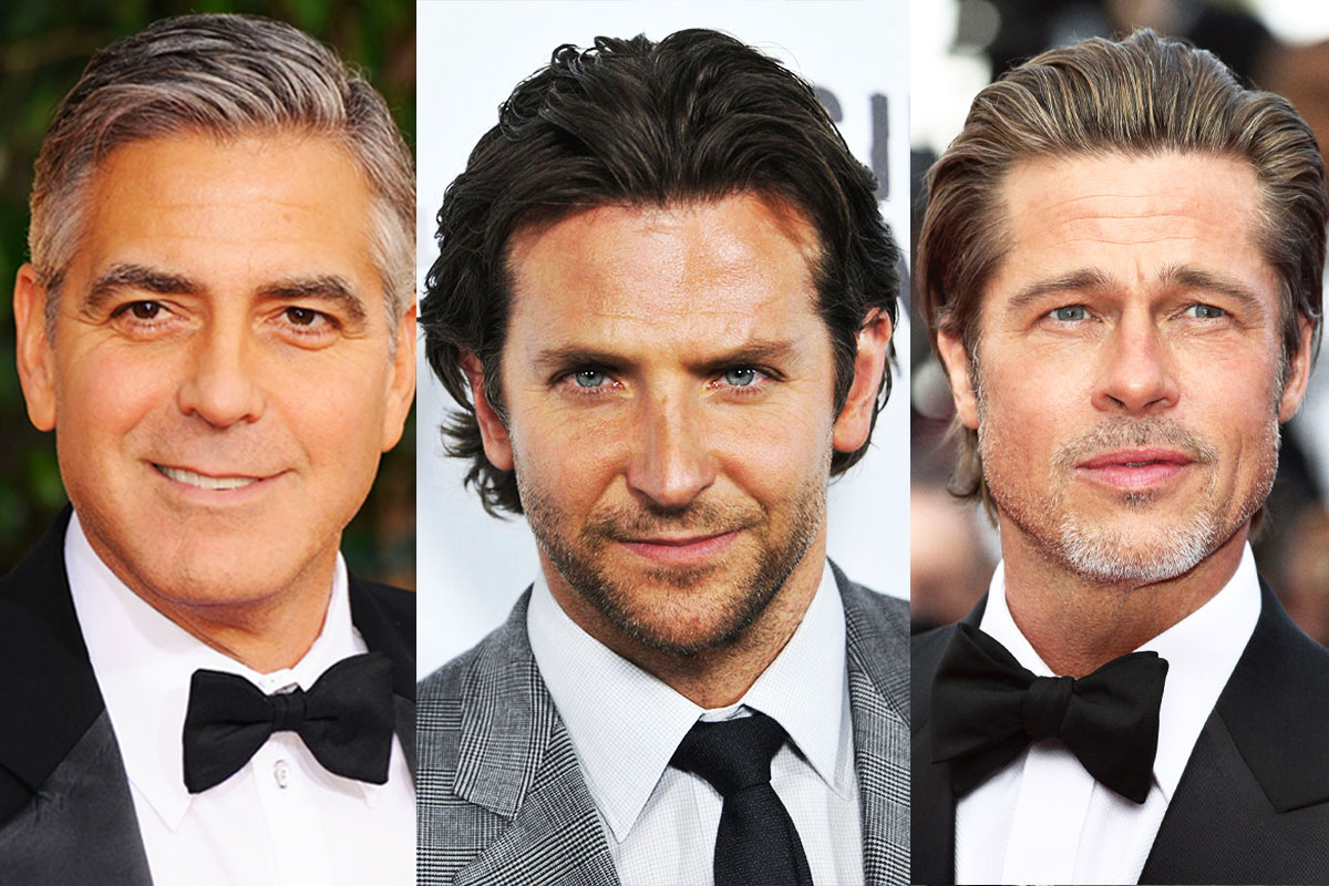 Who are the most handsome actors under the science perspective?