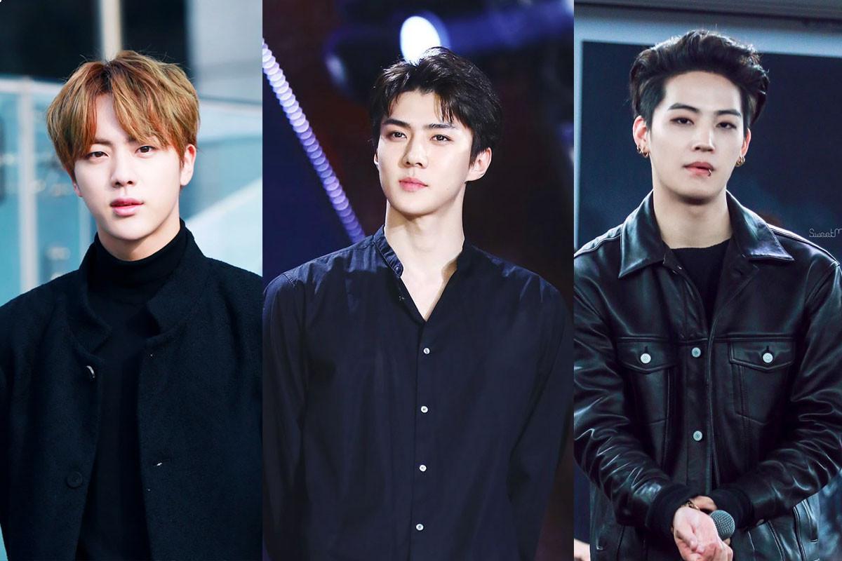 Top 6 Male Idols got praised for their broad shoulders