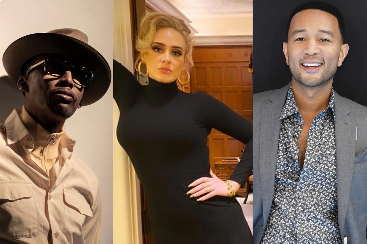 Adele works with Raphael Saadiq and John Legend for upcoming album