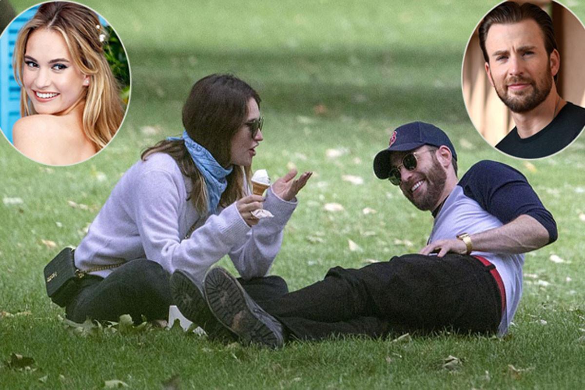 Chris Evans dated 'Cinderella' actress Lily James
