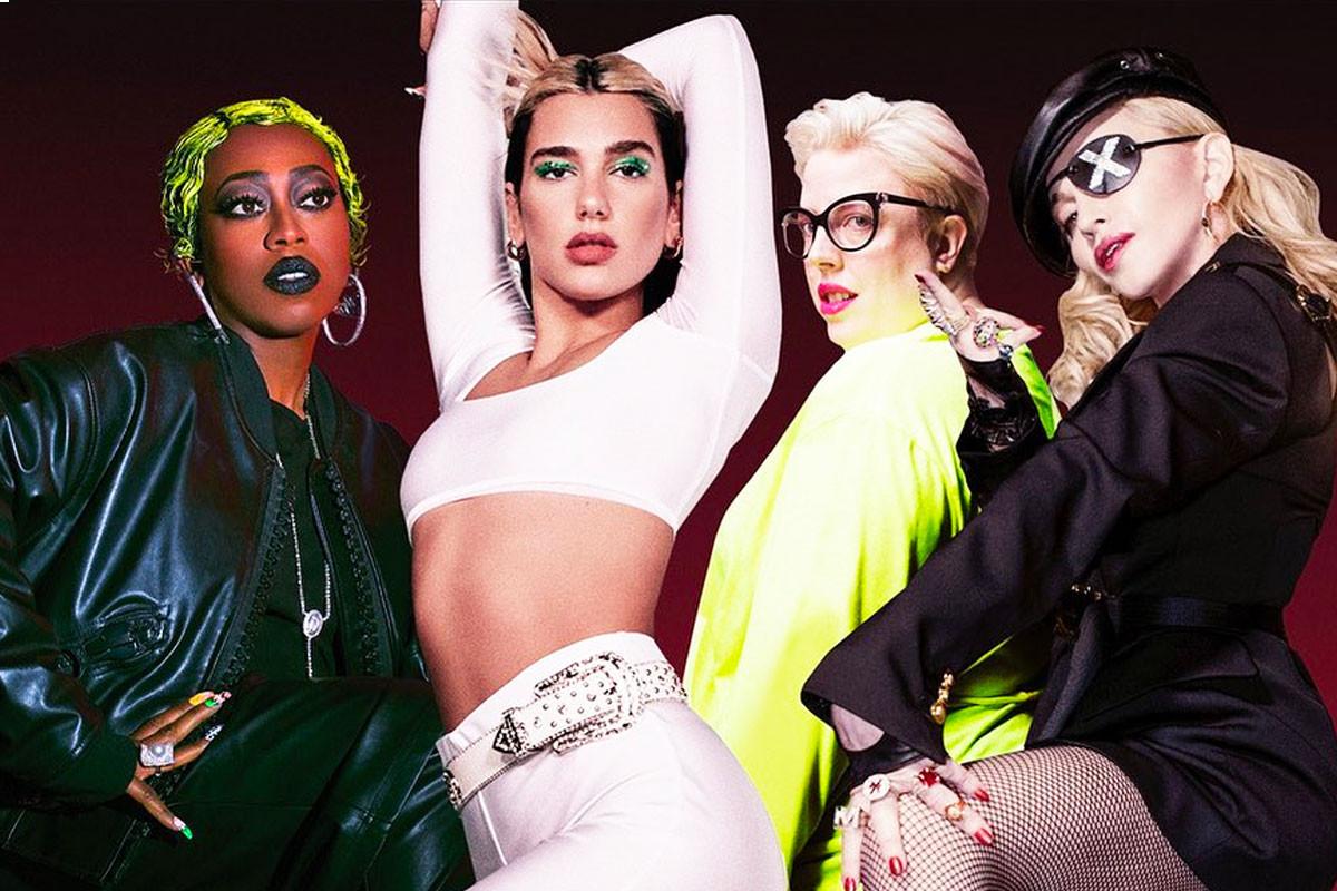 Dua Lipa adds Madonna and Missy Elliott in Levitating remix