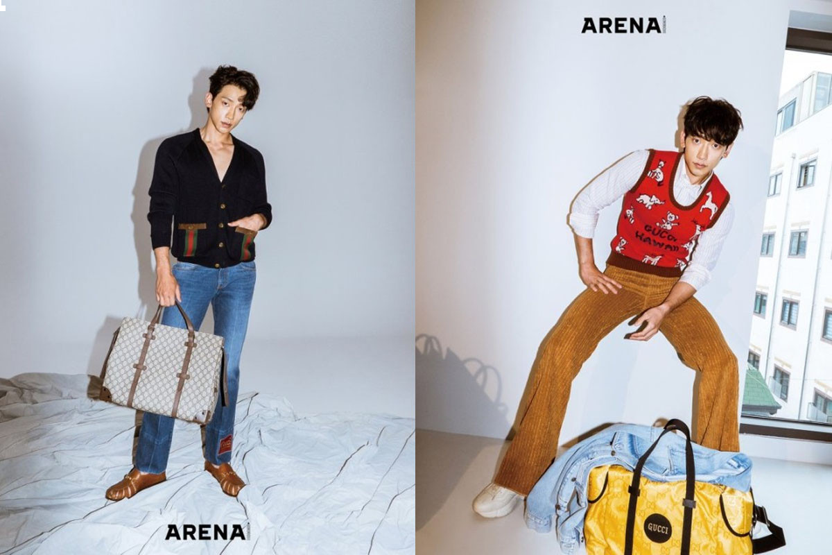 Rain shares his thought about combination with Lee Hyori and Yoo Jae Suk in new pictorial of 'Arena Homme+'