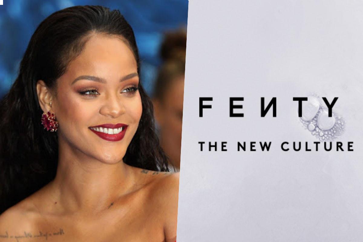 Rihanna advertises skincare cosmetics Fenty, fans ask for new album