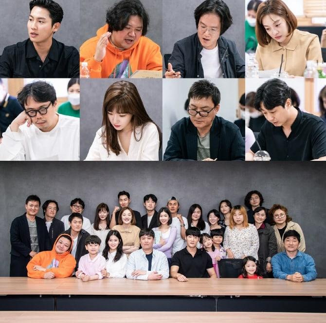 zombie-drama-script-reading-images-choi-jin-hyuk-park-ju-hyun-2