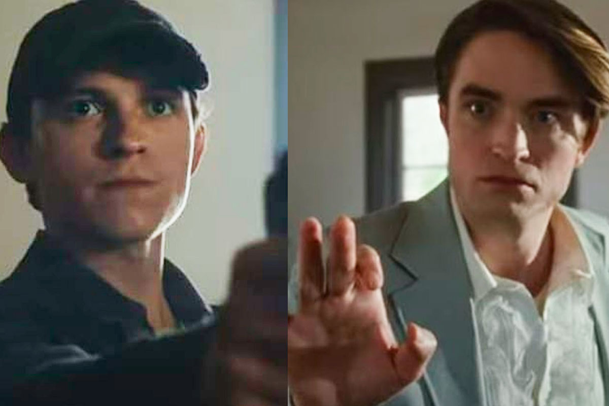 Tom Holland pulls a gun at Robert Pattinson in trailer of The Devil All the Time