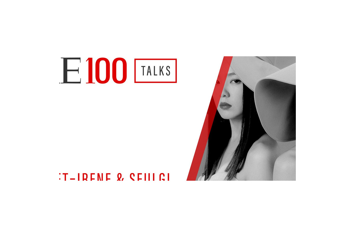 Irene, Seulgi decorate closing stage for 'Time100 Talks'