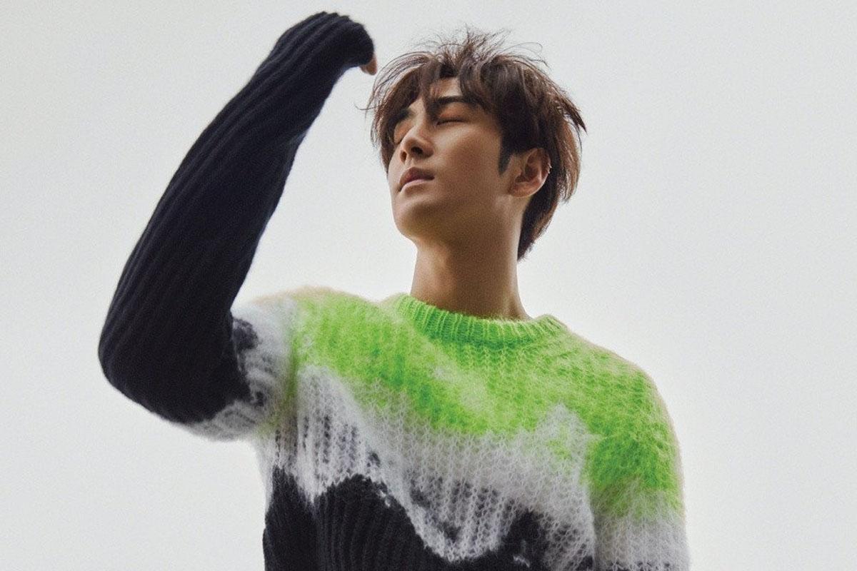 NU'EST's Baekho shows trendy side in 'Harper's Bazaar' solo pictorial