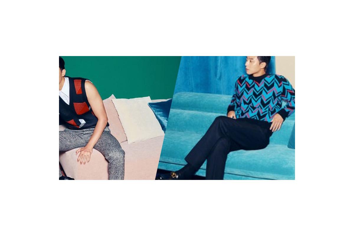 Park Seo Joon appears with sexy vibes on BAZAAR