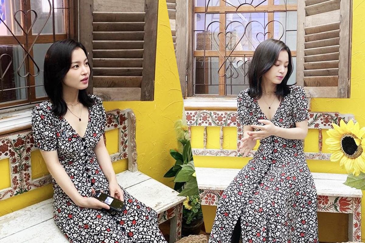 Lee Hi expresses her bright feminine beauty on SNS