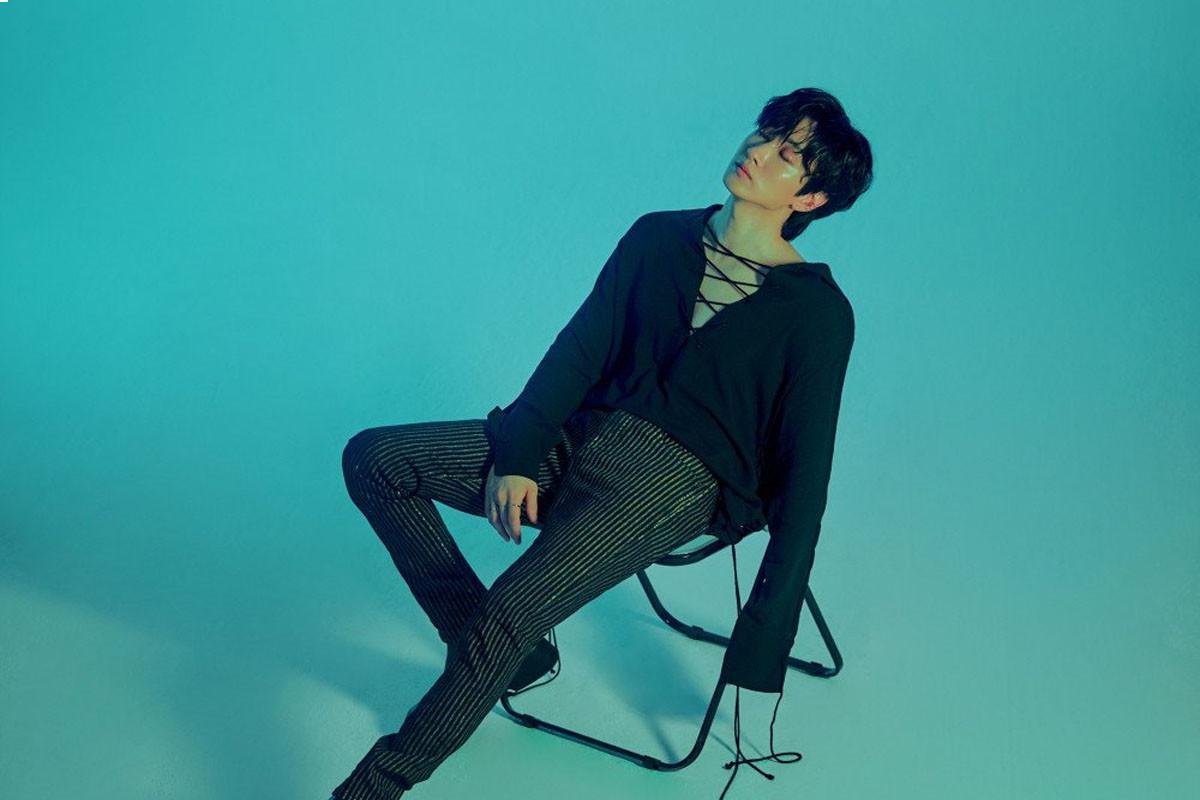 Super Junior D&E's Eunhyuk releases 'Hot Blood' version teaser images for mini-album 'Bad Blood'