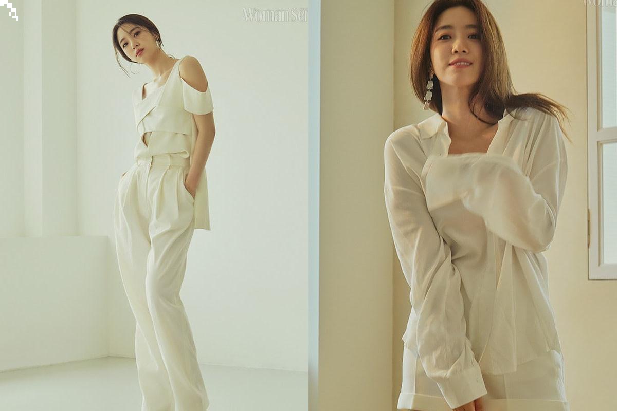T-ara's Eunjung takes photoshoot + interview with fashion magazine Woman Sense