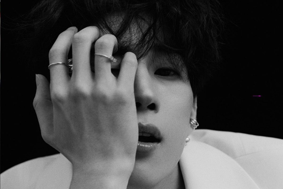 VICTON's Seungwoo reveals black and white teaser images for solo mini-album 'Fame'