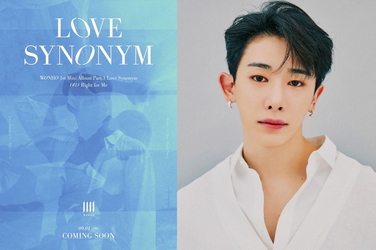 Wonho to release first mini album Part.1 'Love Synonym' on September 4