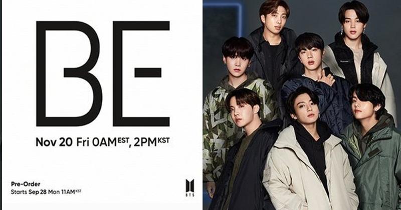 5 Secret Meanings Hidden Behind The Logo Design Of BTS Album 'BE'
