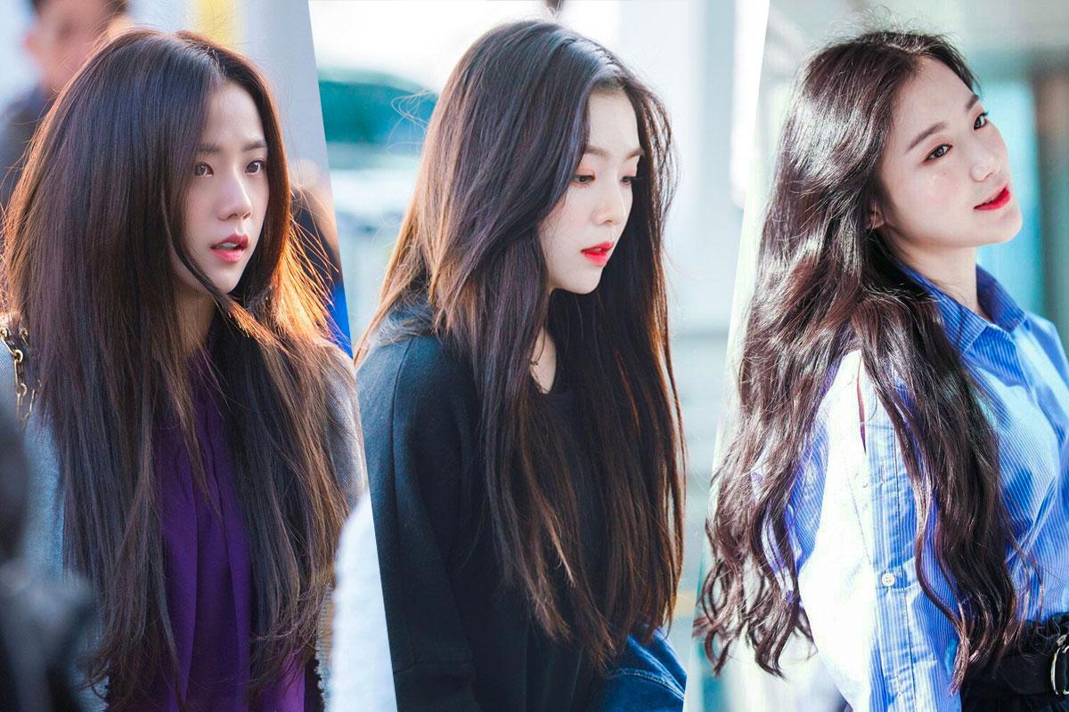 13 Female Idols Looks Like Goddess In Dark Hair
