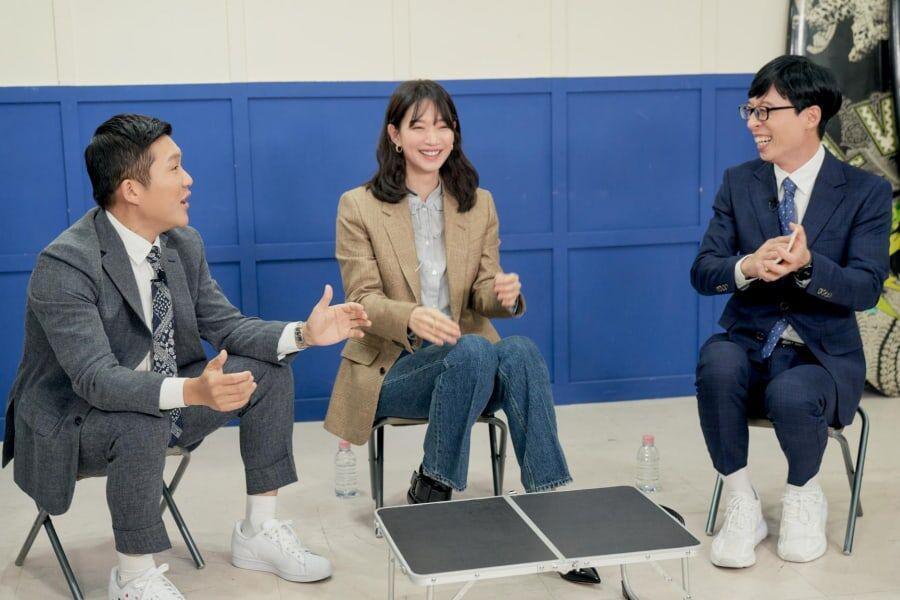 Finally, Shin Min Ah reunited with Yoo Jae Suk after 6 years