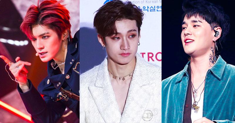 13 K-Pop Idols Look Best With Eyebrow Slit Trend