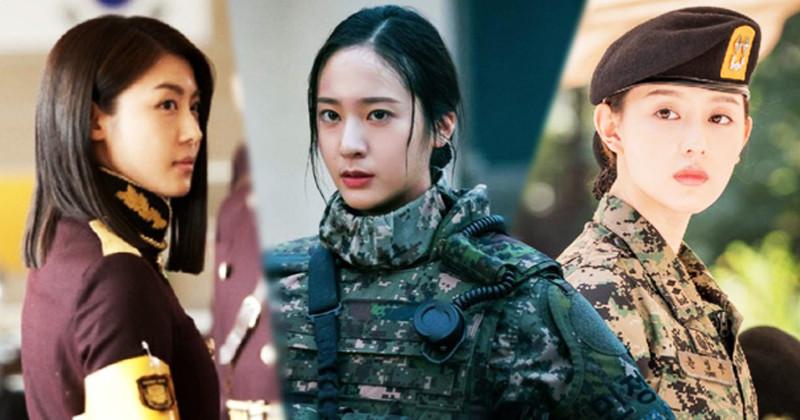 3 cool hot female soldiers in Korean movies: Krystal is beautiful, but not impressed with Kim Ji Won