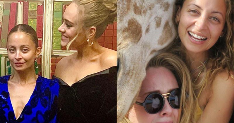 Adele shared photos celebrating Nicole's birthday