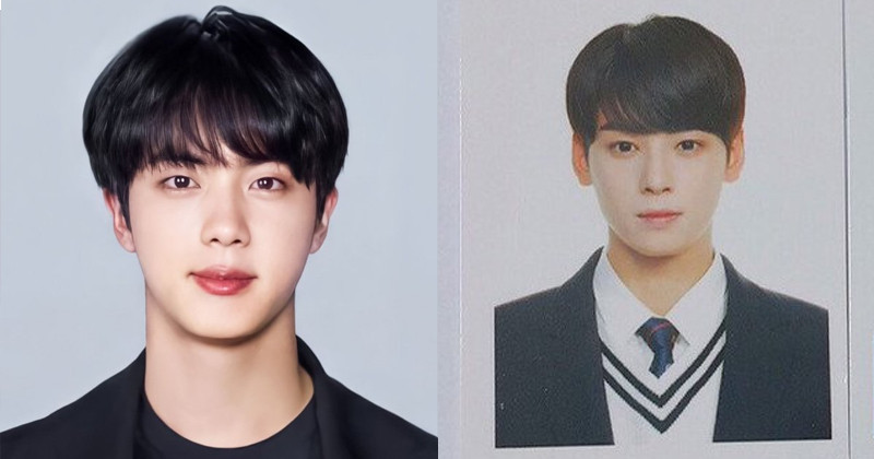 These 7 Passport Photos of  Male K-Pop Idols Will Make Your Heart Flutter