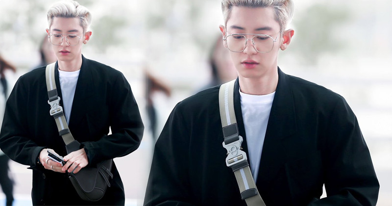 10 Airport Outfits That Made Everyone Fall In Love With EXO Chanyeol's Style