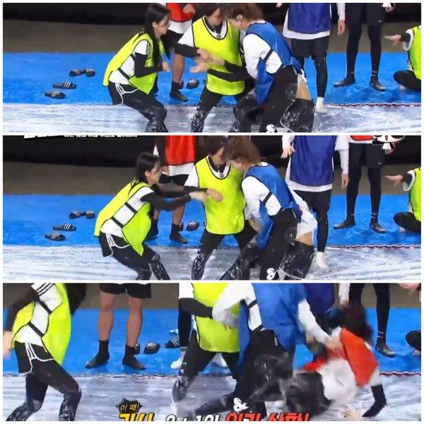 blackpink-fans-want-jeon-somin-out-after-she-kicks-jisoo-stomp-on-jennies-injured-leg-in-running-man-3
