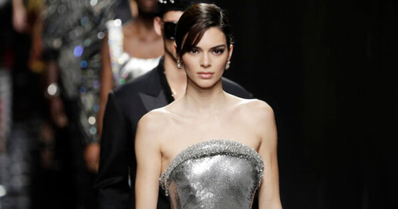 Highest paid model Kendall Jenner in 12-million-view-clip