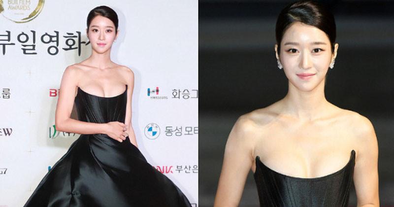 Seo Ye Ji took up all the red carpet spotlight