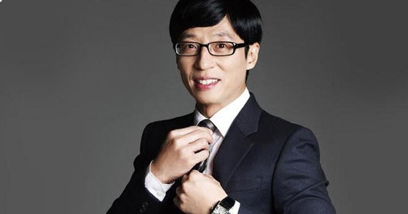 The way Yoo Jae Suk treats staff at set is suddenly hot