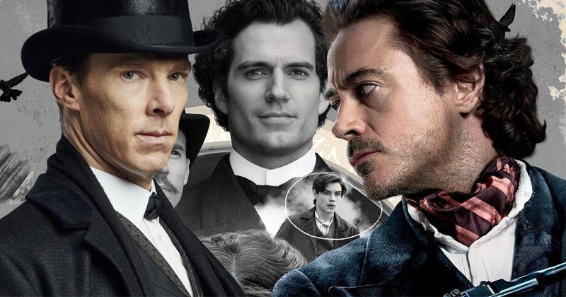 3 Sherlock Holmes are original superheroes!